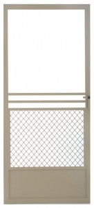 Half Santa Fe Swinging Screen Door